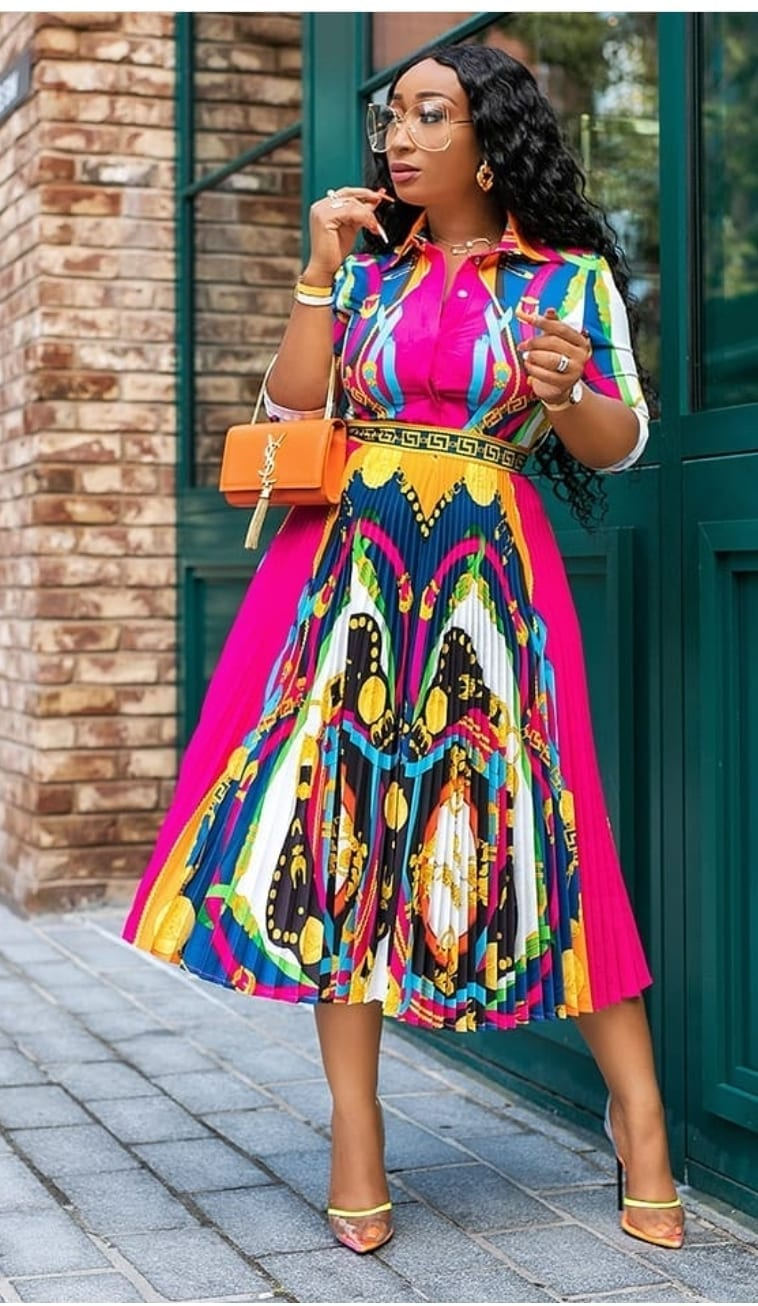 Journee Multicolour Paisley Silky Shirt Co-ord Set
